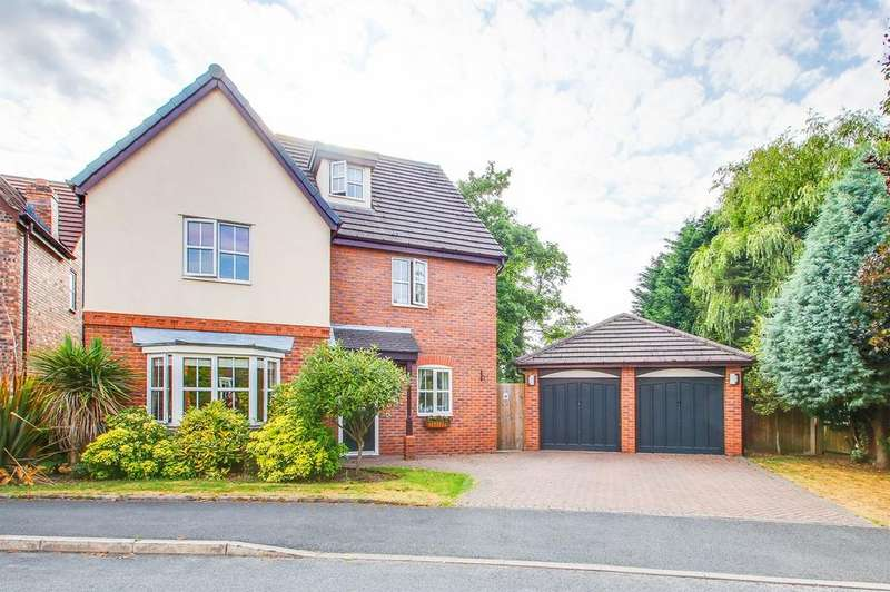 5 Bedrooms Detached House for sale in Minster Drive, Davyhulme, Manchester, M41