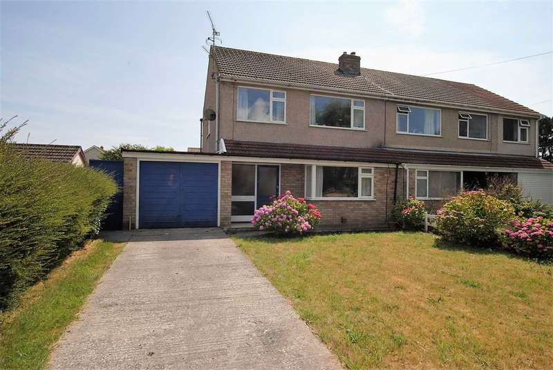 3 Bedrooms Semi Detached House for sale in Bishops Park, Upper Lamphey Road, Pembroke