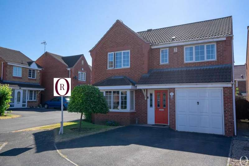 4 Bedrooms Detached House for sale in Pochins Bridge Road, Wigston, Leicester