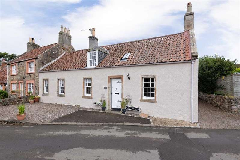 2 Bedrooms Cottage House for sale in Meadow Road, Kilconquhar