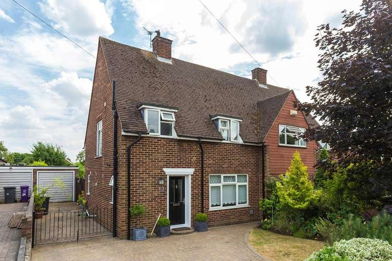 3 Bedrooms Semi Detached House for sale in Waysbrook, Letchworth Garden City, SG6