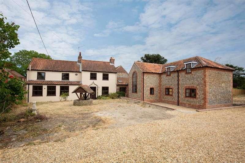 4 Bedrooms Detached House for sale in West Street, North Creake, Fakenham, Norfolk, NR21