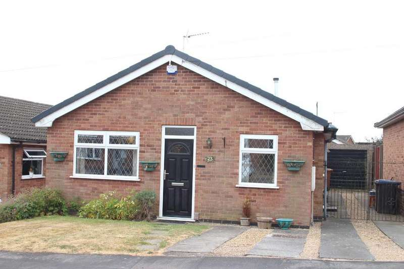 2 Bedrooms Detached Bungalow for sale in Kintyre Close, Hinckley
