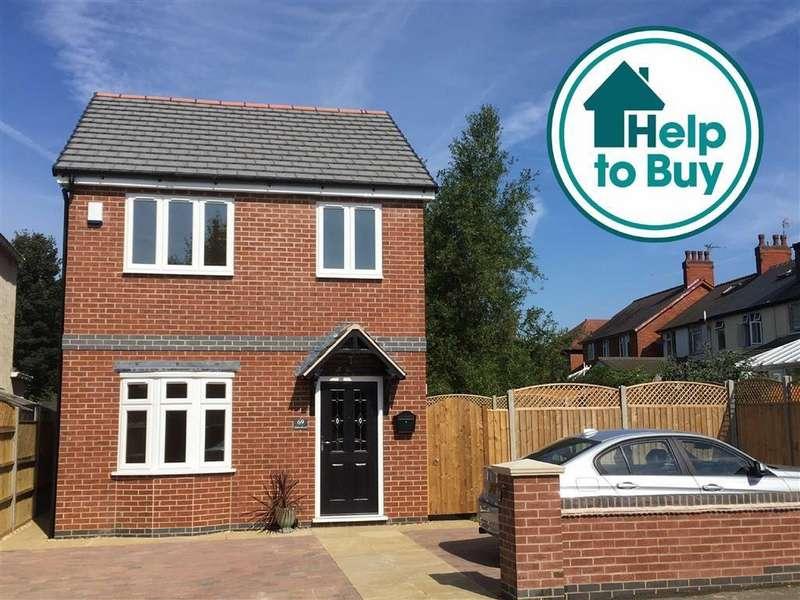 2 Bedrooms Detached House for sale in Glebe Road, Hinckley