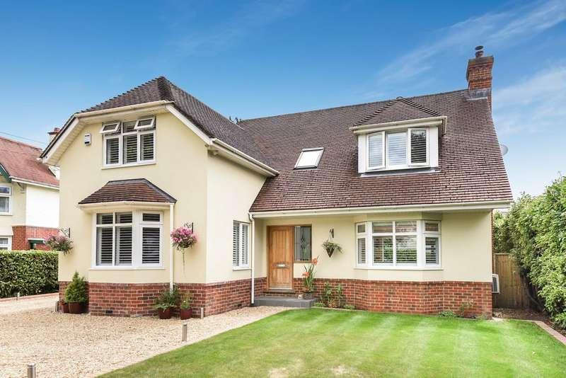 4 Bedrooms Detached House for sale in Glenwood Road, West Moors