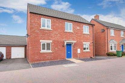 4 Bedrooms Detached House for sale in Libertas Drive, Peterborough, Cambridgeshire