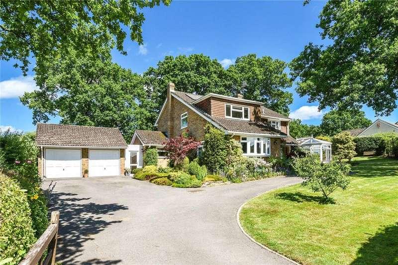 4 Bedrooms Detached House for sale in Blacknest Road, Blacknest, Alton, Hampshire