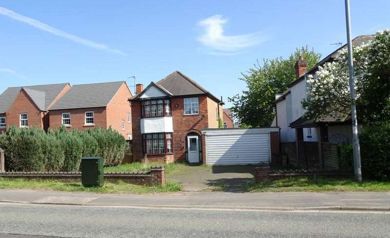 3 Bedrooms Detached House for sale in Melton Road, Queniborough, Leicester, LE7 3FP