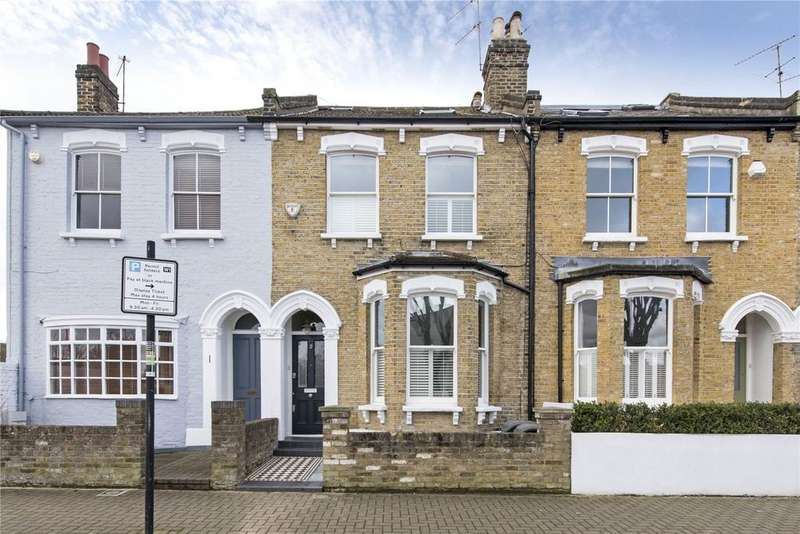 4 Bedrooms Terraced House for sale in Dighton Road, Tonsleys, Wandsworth, London, SW18