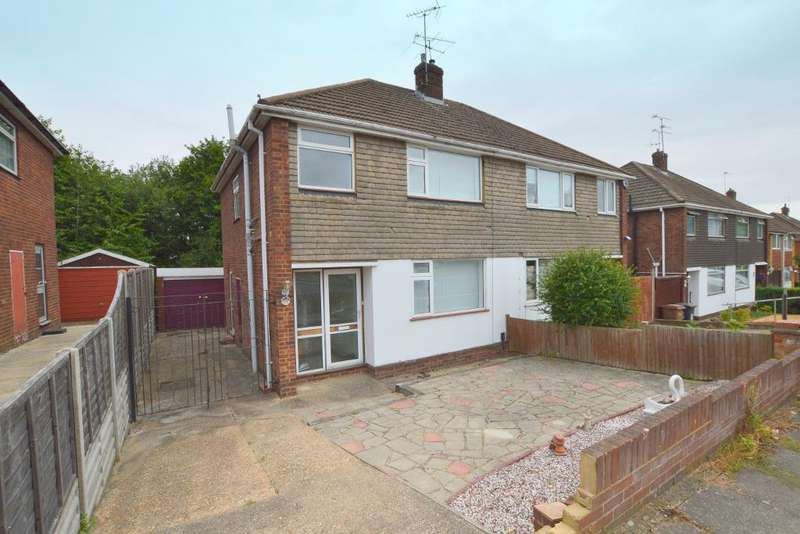 3 Bedrooms Semi Detached House for sale in Deep Denes, Round Green, Luton, LU2 7SU
