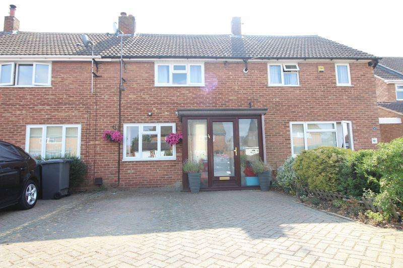 3 Bedrooms Terraced House for sale in Elm Avenue, Caddington