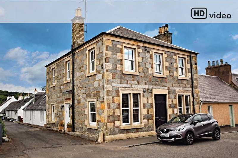 4 Bedrooms Detached House for sale in The Auld Posthouse, Burnside Row, Kirkmichael, South Ayrshire, KA19 7PL