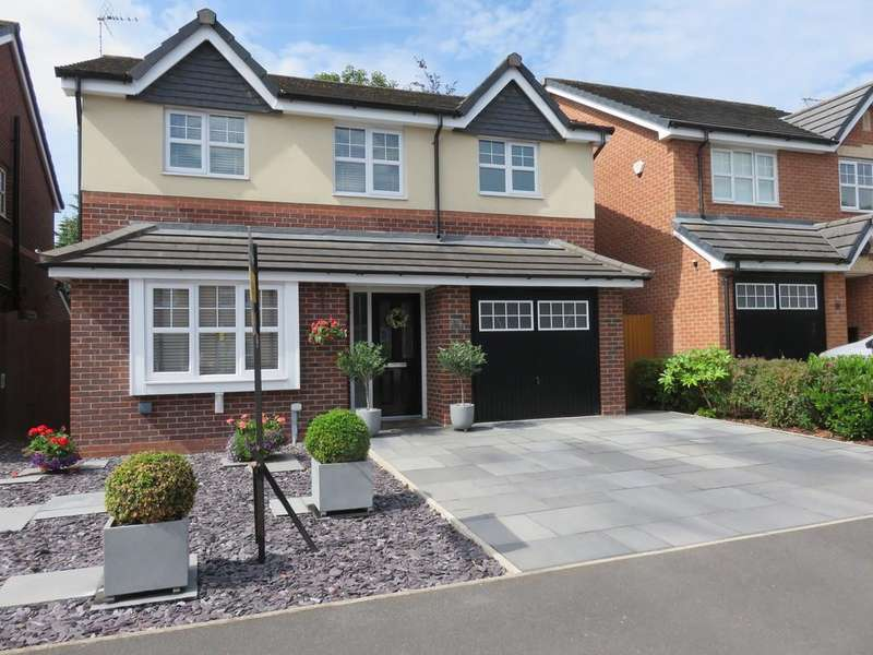 4 Bedrooms Detached House for sale in Jasmine Avenue, Macclesfield