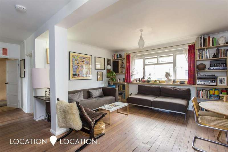 3 Bedrooms Flat for sale in Amhurst Road, London