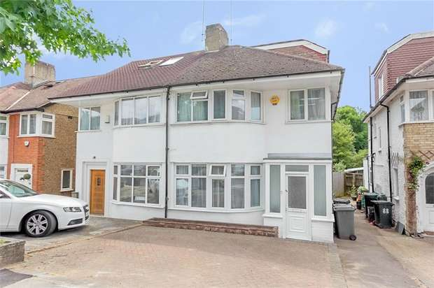 4 Bedrooms Semi Detached House for sale in Whitehouse Way, London