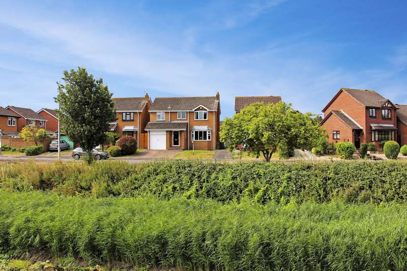 4 Bedrooms Detached House for sale in Brampton Way, Portishead, BS20