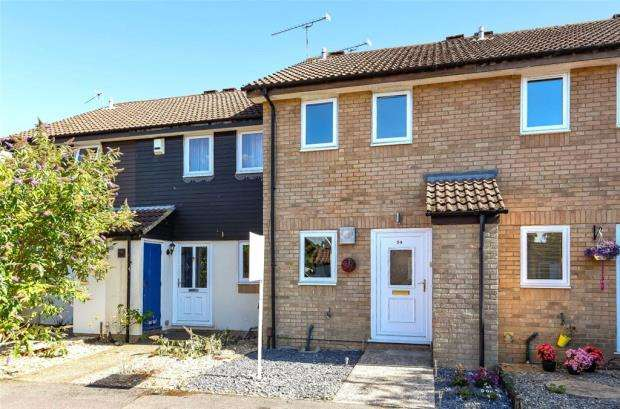 2 Bedrooms Terraced House for sale in Beaconsfield Way, Earley, Reading