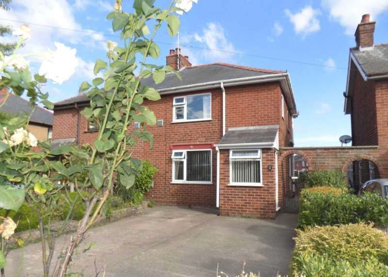 2 Bedrooms Semi Detached House for sale in Berse Road, Wrexham, LL11 2BH.