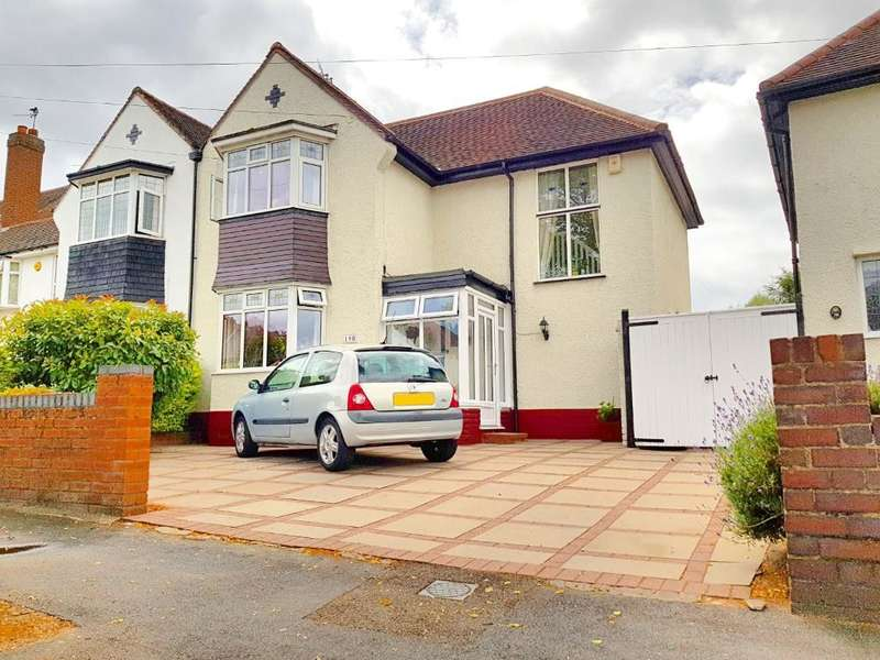 3 Bedrooms Semi Detached House for sale in HYDES ROAD, WEST BROMWICH, WEST MIDLANDS, B71 2ED