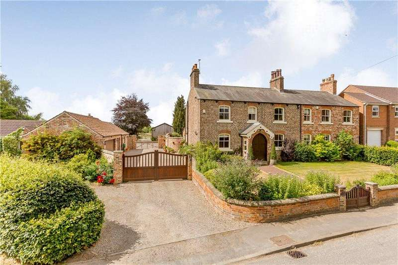 5 Bedrooms Detached House for sale in Main Street, Wighill, Tadcaster, North Yorkshire, LS24