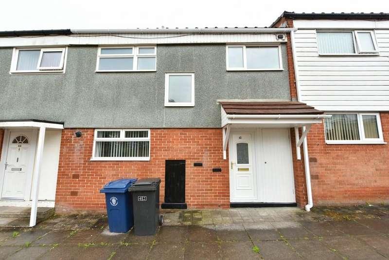 3 Bedrooms Terraced House for sale in Whitestocks, Skelmersdale