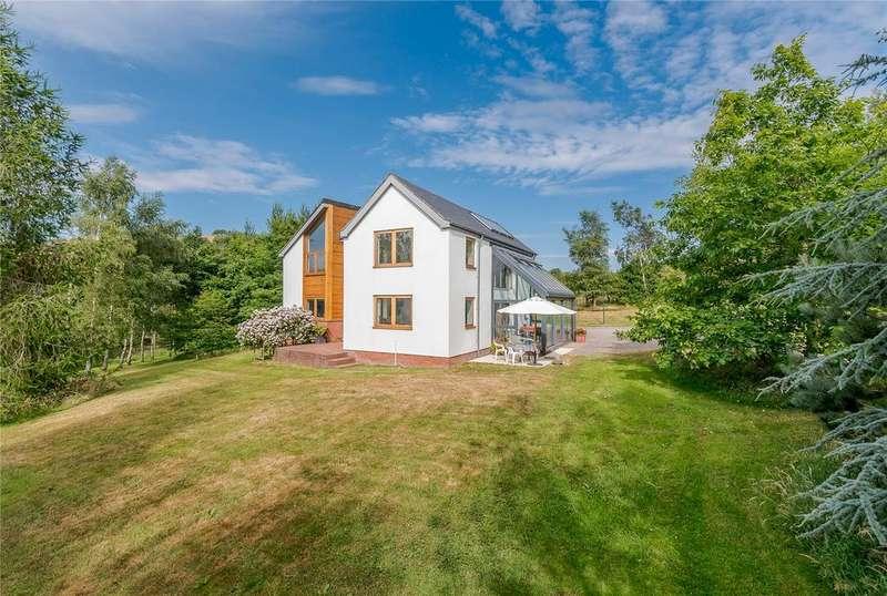 4 Bedrooms Detached House for sale in Ratlinghope, Shrewsbury