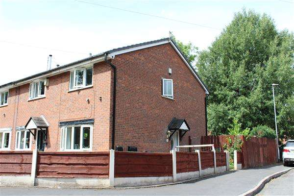 2 Bedrooms Town House for sale in Belthorne Avenue, Manchester