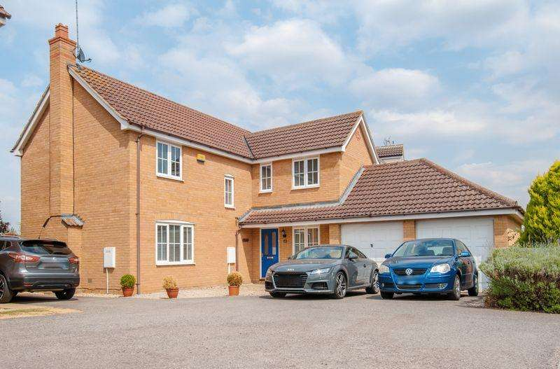 4 Bedrooms Detached House for sale in Donne Close, Higham Ferrers
