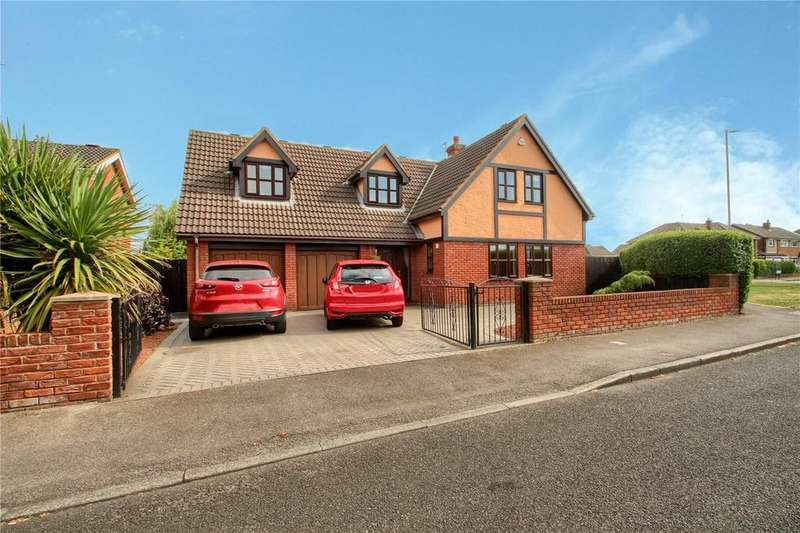 4 Bedrooms Detached House for sale in Fairfield Close, Fairfield