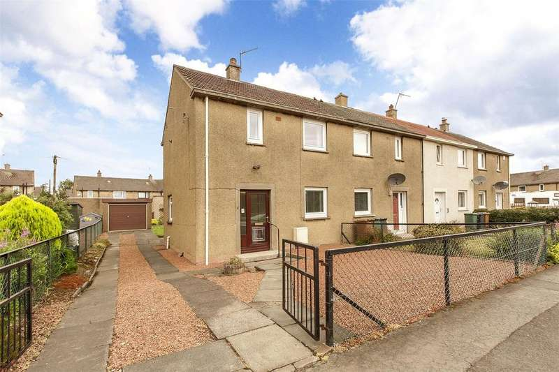 2 Bedrooms End Of Terrace House for sale in 8 Hillwood Rise, Ratho Station, Newbridge, EH28