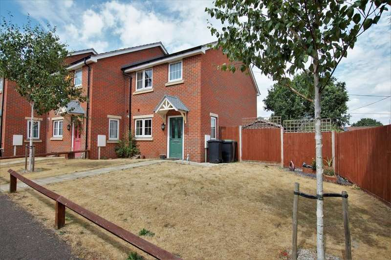 3 Bedrooms Semi Detached House for sale in Minerva Way, North Hykeham