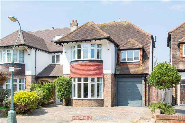 4 Bedrooms Semi Detached House for sale in Coleman Avenue, Hove