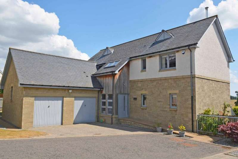 4 Bedrooms Detached House for sale in Glentarkie Steading, Near Strathmiglo, Fife, KY14 7RU