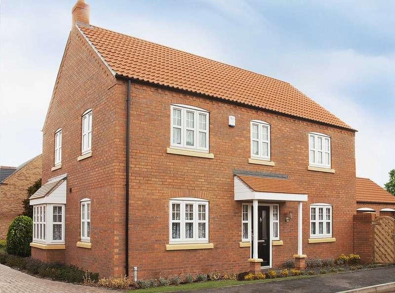 4 Bedrooms Detached House for sale in Plot 128, The Thornton, The Swale, Corringham Road DN21