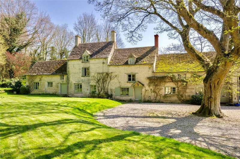 5 Bedrooms Detached House for sale in Rodmarton, Cirencester, Gloucestershire