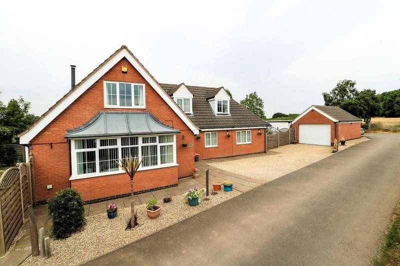 4 Bedrooms Detached House for sale in Spring Lane, Swannington