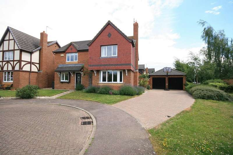 4 Bedrooms Detached House for sale in Quebec Close, Wootton, Northampton, NN4
