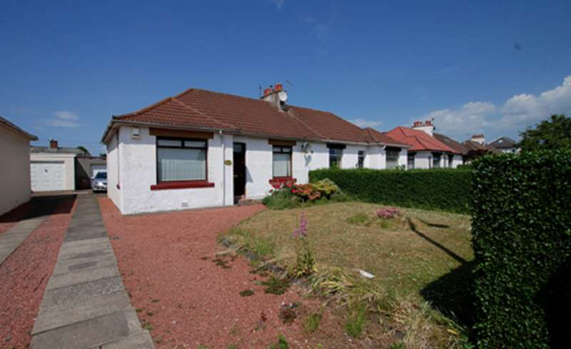 3 Bedrooms Semi Detached Bungalow for sale in 111 Whitletts Road, AYR, KA8 0JF