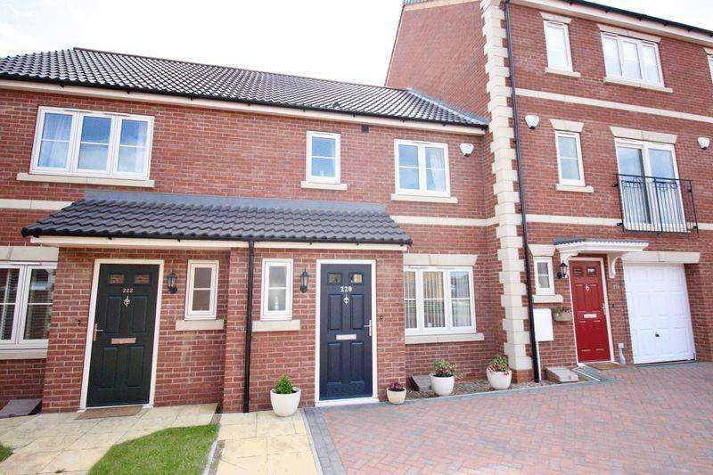 3 Bedrooms Terraced House for sale in Wolsey Way, Lincoln