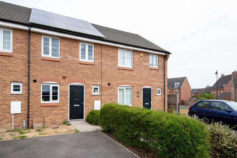 2 Bedrooms Terraced House for sale in Chepstow Drive, Bourne, PE10