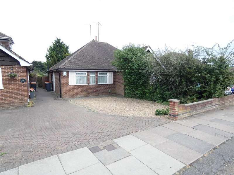 2 Bedrooms Semi Detached Bungalow for sale in Langdale Road, Dunstable