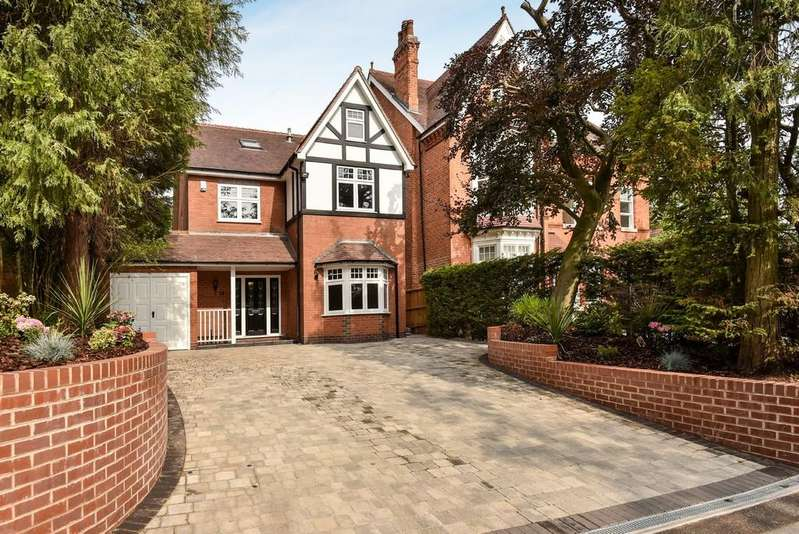 5 Bedrooms Detached House for sale in St. Bernards Road, Solihull