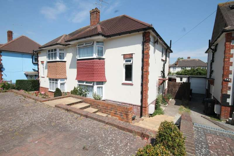 3 Bedrooms Semi Detached House for sale in Mile Oak Road, Portslade, Brighton BN41 2RA