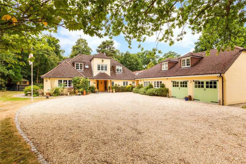 5 Bedrooms Detached House for sale in Hermitage Road, Cold Ash, Thatcham, Berkshire, RG18