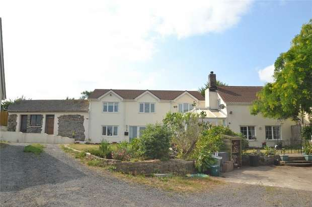 6 Bedrooms Country House Character Property for sale in Brynsworthy, Barnstaple, Devon