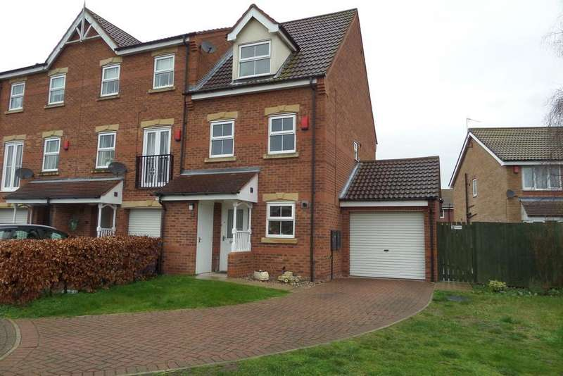 3 Bedrooms Town House for sale in The Alders, Gainsborough