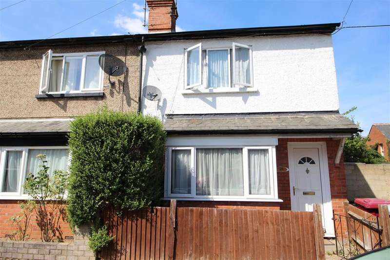 2 Bedrooms End Of Terrace House for sale in Kent Road, Reading