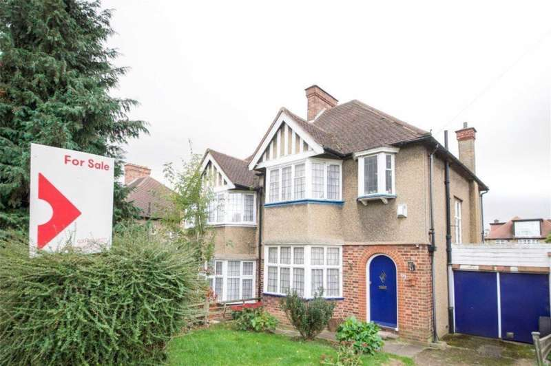 3 Bedrooms Semi Detached House for sale in Kingsbury NW9 8HG