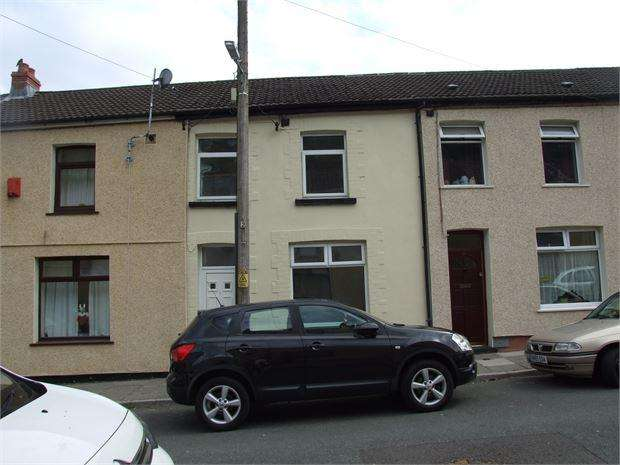 3 Bedrooms Terraced House for sale in Woodland Road, Tylorstown, Ferndale, Rhondda cynnon taff. CF43 3ND