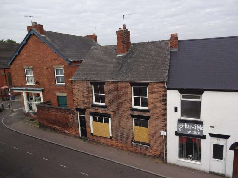 3 Bedrooms Terraced House for sale in High Street, Brimington, Chesterfield